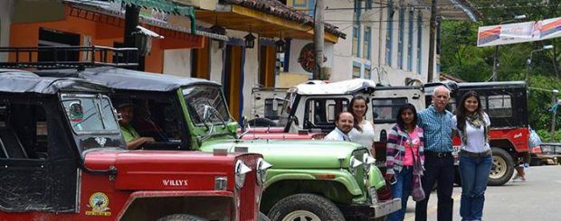 Jeeps in Salento Colombia